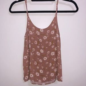 Thin Strap Floral Top